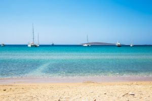 Aliki beach, Paros, Greece