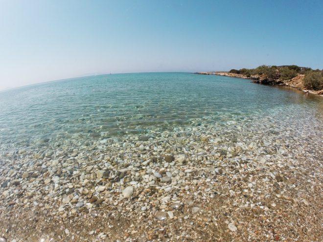 Glyfa beach, Paros, Greece