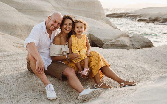 Family travel Greece