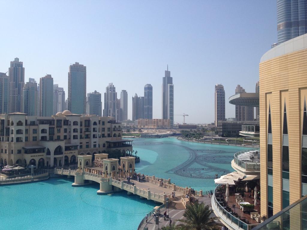 The extravagant Dubai