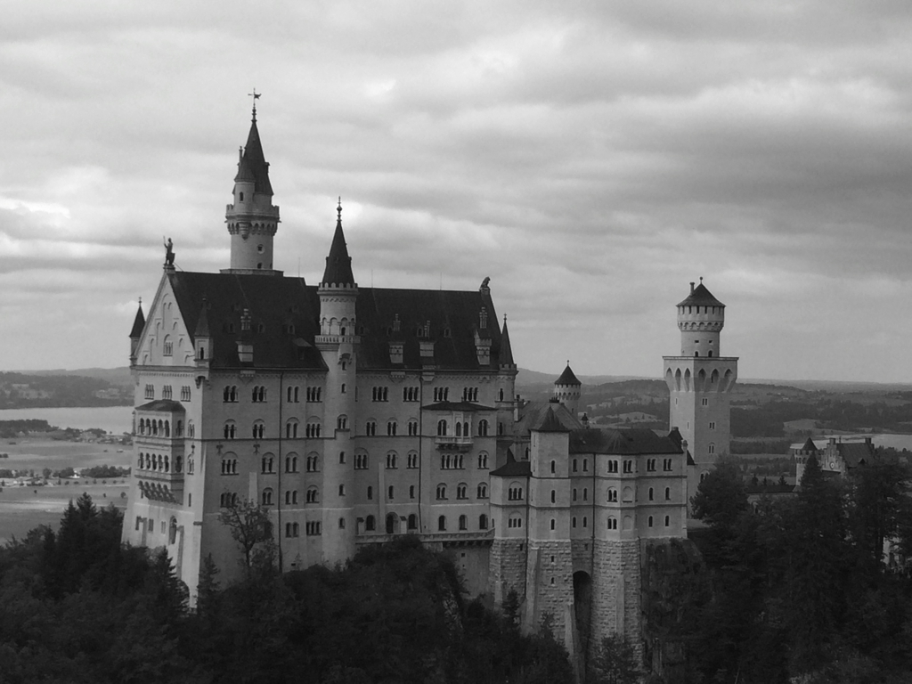 The fairy-tale castle: Neuschwanstein