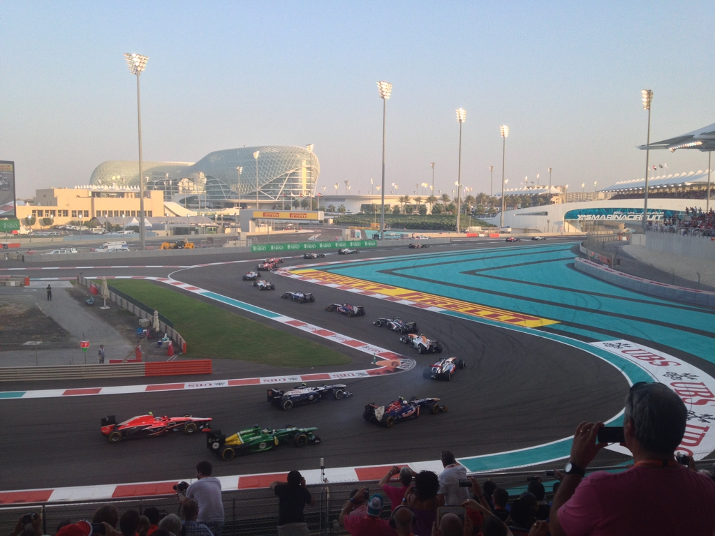 Formula 1 Grand Prix in Abu Dhabi