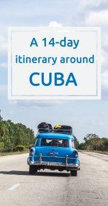 14 days around Cuba