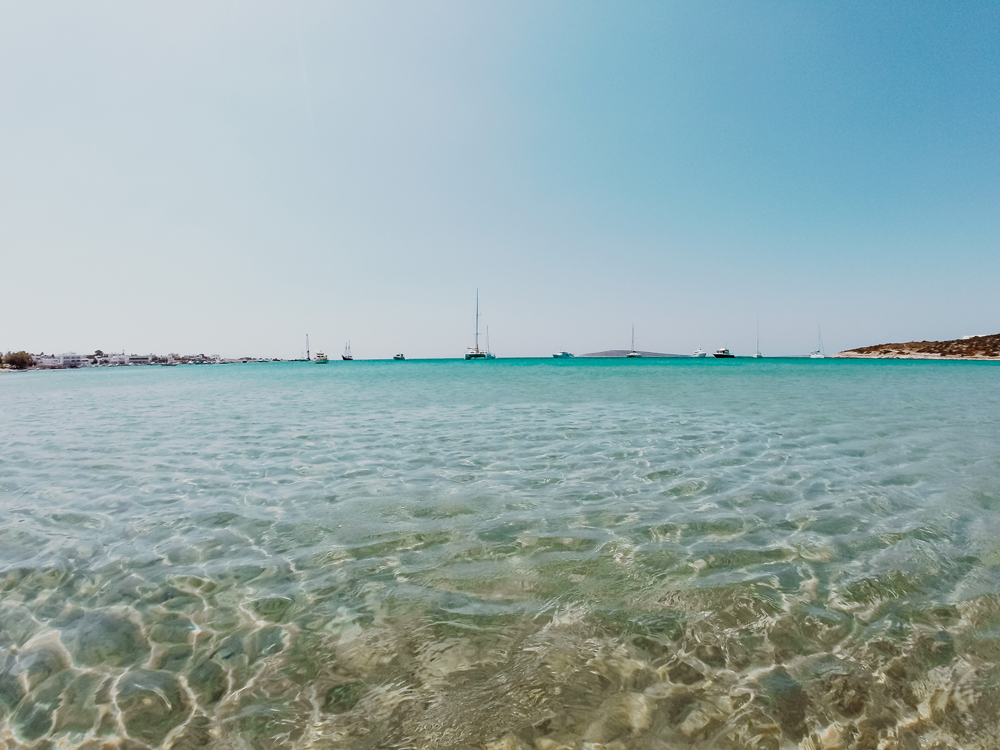 Top 5 beaches on Paros