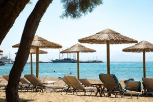 Logaras Beach, Paros, Greece